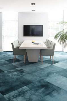 Betul Canbaz - Starline Poolhouse Carpet Flooring, Carpet Tiles, Rugs On Carpet, Office Carpet, Floor Finishes, Pool Houses, Commercial Design, Tile Patterns, Office Interiors
