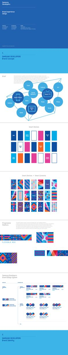 Samsung Developers Brand eXperience Design by Plus X , via Behance