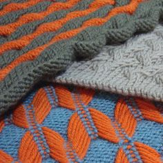 Machine Knitting workshop - Hand Manipulated techniques #texture #colorwork