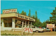 Johnson's Snack Bar & Bakery, Copper Harbor, MI
