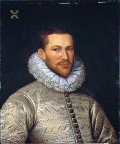 Artist Attributed to Daniël van den Queborn (fl. 1577–1602)  TitlePortrait of Andries van der Muelen (1549-1611) Date1583
