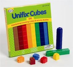 Unifix Cubes (loads of books available for grades pre-K through about sixth for various math uses)