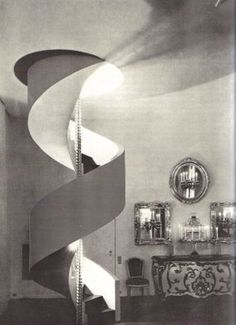Le Corbusier designed apartment for Charles de Beistegui.