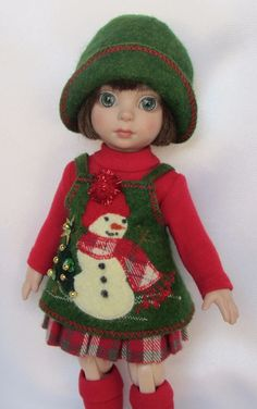 "PATSY'S JOLLIEST OF HOLIDAYS! FOR 10""ANN ESTELLE, ETC.MADE BY SSDESIGNS"