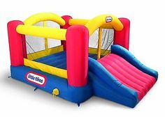 Little Tikes Jump 'n Slide Bouncer outdoor inflatable bounce house kids blower - http://hobbies-toys.goshoppins.com/outdoor-toys-structures/little-tikes-jump-n-slide-bouncer-outdoor-inflatable-bounce-house-kids-blower/