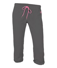$8.99 today Gunmetal & Pink Year Round Football Capri Pants & much more