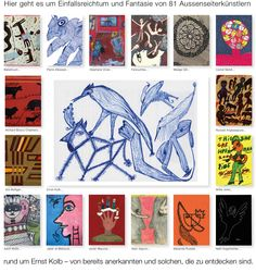 Welcome to a collection of outsider art Web Gallery, Outsider Art, The Outsiders, Presents, Artist, Collection, Mannheim, Weaving, Kunst