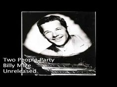 ▶ Billy Mize - Two People Party - YouTube