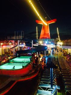 Carnival elation lido deck