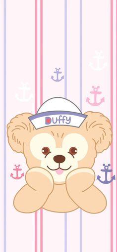Disney Phone Wallpaper, Friends Wallpaper, Iphone Wallpaper, Duffy The Disney Bear, Pooh Bear, Backrounds, Kawaii Art, Cute Wallpapers, Walt Disney
