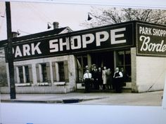 Park Shoppe-17th St.  Popular place for kids in 50's and 60's
