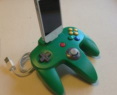 Upcycled game consoles turned into charging docks. Our kids would love these.