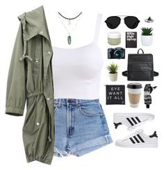 """Untitled #580"" by amy-lopezx ❤ liked on Polyvore featuring Levi's, 3.1 Phillip Lim, Eyeko, Zoemou, Retrò, OUTRAGE, Sisley and Aesop"