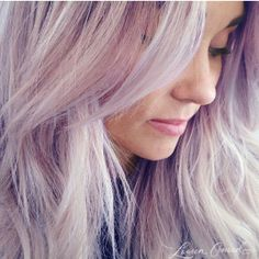 Purple hair for spring, like LC!