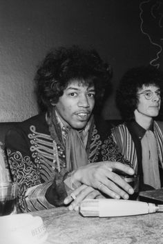 the man who changed it all...Jimi Hendrix (before my time but awesome!)