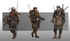 Armor Concept, Concept Art, Character Concept, Character Art, Design Alien, Character Design Cartoon, Alternate History, Military Art, Dieselpunk