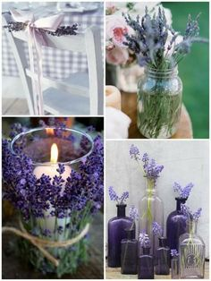 Purple Wedding Ideas - Weddbook. Has some cute purple stuff