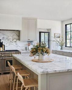 Home Decor Kitchen .Home Decor Kitchen Large Kitchen Island, Eat In Kitchen, Updated Kitchen, Home Decor Kitchen, Kitchen Interior, Home Kitchens, Kitchen Dining, Large Kitchen Design, Kitchen Ideas