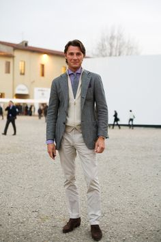 On the Street….Casual Friday at Pitti Uomo « The Sartorialist