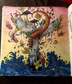 """ #imagimorphia #kerbyrosanes #coloringbook #anticoloringbook #antistresoveomalovanky"""