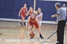 Girls Basketball, the Fleetwood Tigers vs. the Muhlenberg Muhls at Muhlenberg High School Thursday evening January 12, 2017. Fleetwood won 40-33. Photo by Ben Hasty