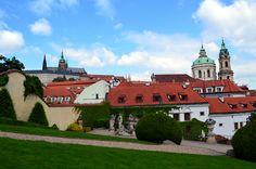 Le jardin Vrtba (vue sur Prague)