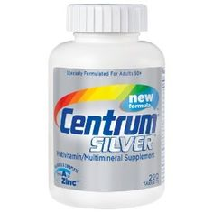 Centrum Silver, Multivitamin/ Multimineral Supplement, 220-Count Bottle --- http://www.amazon.com/Centrum-Multivitamin-Multimineral-Supplement-220-Count/dp/B0000VLXUA/?tag=centurydevelo-20