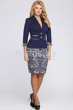 mirtrik - Pesquisa Google African Wear, African Dress, African Fashion, Cute Dresses, Dresses For Work, Suits For Women, Clothes For Women, Dress Suits, Office Outfits