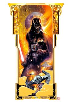 Portrait Series | STAR WARS ORIGINAL ART | SANDAWORLD.COM | The Art of TSUNEO SANDA