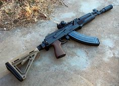 Draco non-sbr due to the welded muzzle device