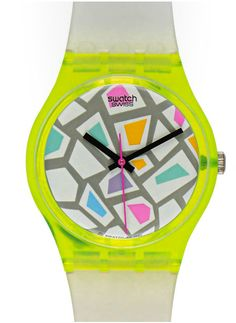 I had this one..! (still do, somewhere) Oh, how I loved my Swatch!
