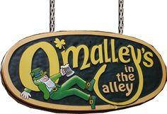 O'Malley's in the Alley - great ham and cheese, Cincinnati's 2nd oldest bar