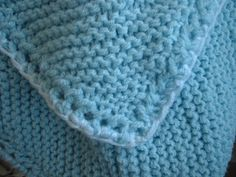 Free Knitting Pattern - Baby Blankets & Afghans: Gromits Blankie