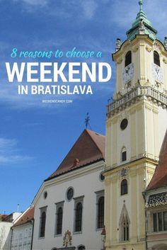 Pinnable image of a weekend in Bratislava