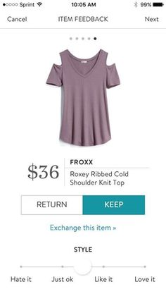 Stitch Fix wish list - one of the only cold shoulder tops I like because you can wear regular bras without straps showing