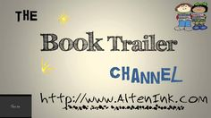 Animated Book Trailer Channel Intro Created on PowerPoint