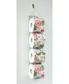 toilet paper holder Rollland / toilet tissue holder by FrauKakau, Toilet Paper Roll Holder, Tissue Holders, Quilting Projects, Household Items, Vienna, Austria, Organizing, Clever, Projects To Try