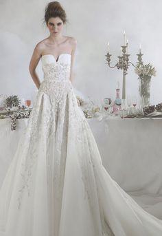 Basil Soda Wedding Dresses 2014 Bridal Collection. To see more: http://www.modwedding.com/2014/07/07/basil-soda-wedding-dresses-2014/ #wedding #weddings #wedding_dress
