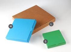 Caja plana para invitaciones - SelfPackaging