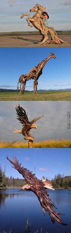 Amazing Wood Sculptures
