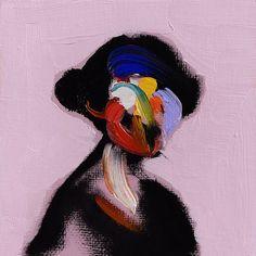 Australian visual artist Loribelle Spirovski uses paint as her medium to create artworks centering around portraiture. Themes of color and space strongly inform the nature. Art Des Gens, Paintings Tumblr, L'art Du Portrait, Arte Pop, Figure Painting, Painting Art, Art Paintings, People Art, Art Sketchbook