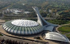 le Stade Olympique, 1976, Roger Taillibert, Montreal