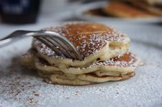 glutenfreie Apfel-Zimt Pancakes!