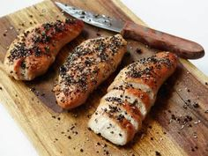 Recipes that are worth your time, useful kitchen how-tos and all the food facts you need to feed your body and mind. Healthy Turkey Recipes, Chicken Recipes, Healthy Meals, Healthy Eating, Turkey Tenderloin Recipes, Healthy Food Choices, Food Facts, Daily Meals, Food And Drink