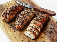 Peppercorn-crusted Turkey Tenderloin