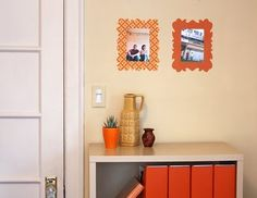 DiY Fabric Wall Decals Tutorial