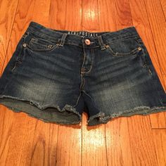 Aeropostale jean shorts Unfinished jean shorts size 2. Aeropostale Shorts Jean Shorts