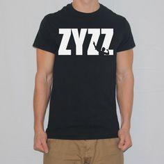 Zyzz Pose Text T-shirt designed by Ripped Generation! #Zyzz #RippedGeneration #GymWear #GymApparel #ZyzzPose Generation Photo, Gym Wear, Shirt Designs, Poses, How To Wear, T Shirt, Fashion, Figure Poses, Moda