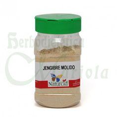 Naturcid, Jengibre Molido, el tallo subterráneo de una planta tropical, muy beneficioso para Artritis, malestar muscular y la osteoartritis.