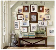 picture frames on wall layouts. photo frame wall designs layouts ideas for many frames on picture living room layout generator planner architecture gallery walls collage and design s Frame Wall Collage, Frames On Wall, Wood Frames, Frame Collages, White Frames, Framed Wall, Photo Collages, Collage Artwork, Empty Frames